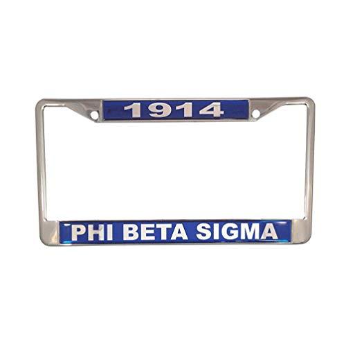 - Desert Cactus Phi Beta Sigma Metal License Plate Frame for Front Back of Car Sigma (Metal - Year/Name)