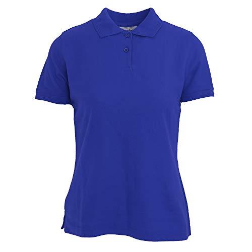 Diva Apparel Absolute Real Mujer Polo Azul Para q4aHE