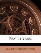 Book Prairie years