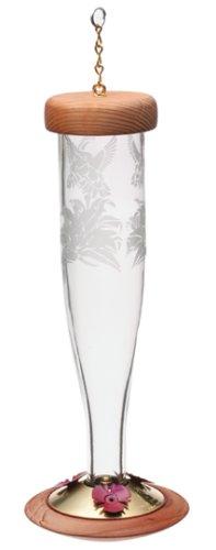 Cheap Schrodt Designs HBL-P-C Hummingbird Paradise Lantern Feeder, Clear