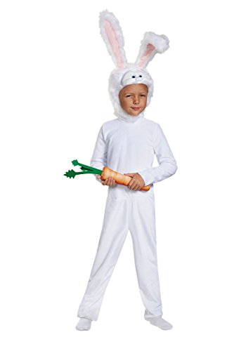 Disguise Snowball Deluxe The Secret Life Of Pets Universal Costume, (Boys Rabbit Costume)
