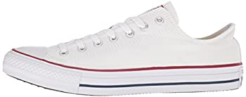 Converse Unisex Chuck Taylor All Star Low Top Optical White Sneakers - 12.5 B(m) Us Women 10.5 D(m) Us Men 5