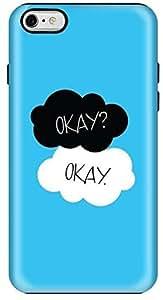 Stylizedd Apple iPhone 6Plus Premium Dual Layer Tough Case Cover Matte Finish - Okay Okay