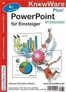 Power Point 2003/2/XP leicht u. verständlich für Einsteiger.