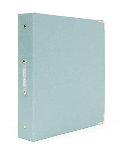 russell+hazel Signature Bookcloth 3-Ring Binder (Dew)