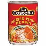 La Costena Bean Refried Pinto Beans 36x 20.5 Oz