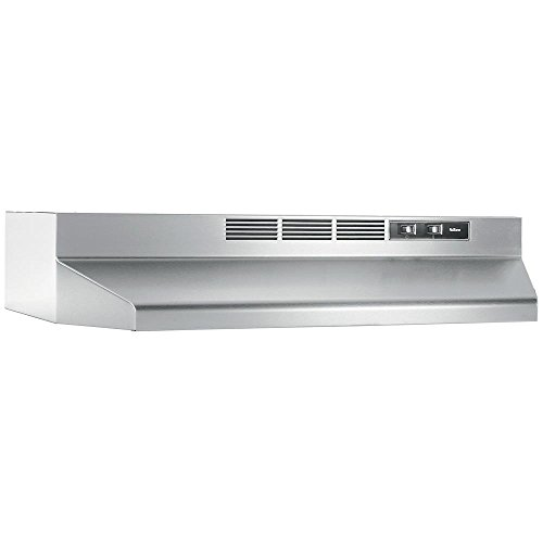 "Price comparison product image NuTone RL6230SS Non-duct,  30"",  Under-cabinet Range Hood in Stainless Steel"