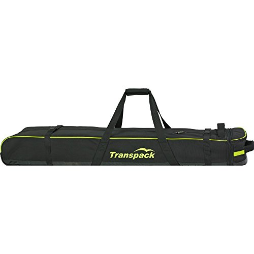 Ski Bag Convertible - Transpack Ski Vault Double Pro Wheeled Ski Bag 2014