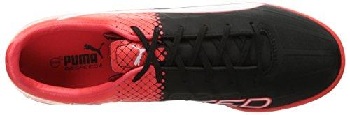 Puma Mens evoSPEED 4.5 Tricks TT Soccer Shoe Puma Black/Puma White