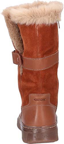 Brown Bottes D Geox A Discomix Hautes C0013 Femme Marron wZqq0td