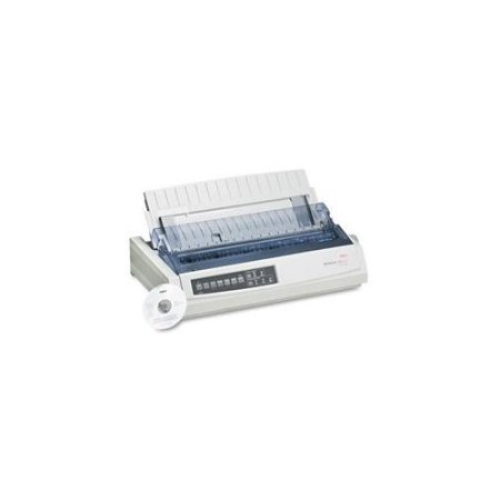 OKIDATA 62411701 - ML321T - MONO - DOT-MATRIX PRINTER - 9-PIN PRINTERHEAD - UP TO 4