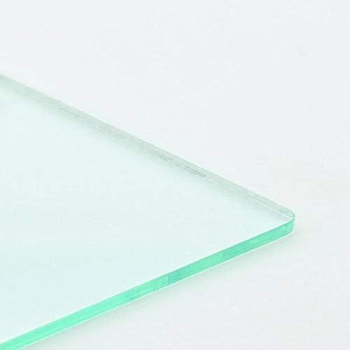 148mm x 105mm // A6 CrestGlass 4mm Clear Acrylic Plastic Sheet
