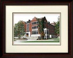 Michigan University Framed Lithograph - Michigan State University: Union Alumnus Framed Lithograph