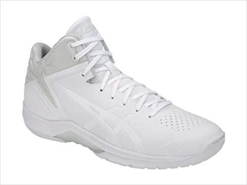 バスケットシューズ asics (アシックス) GELTRIFORCE 3 WHITE/WHITE 1061A004 1905 バスケットボール 100.WHITE/WHITE 25.0cm B07SD2XDQB 100.WHITE/WHITE 25.0cm