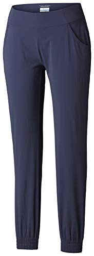 Columbia Women's Anytime Casual Jogger Pant, Nocturnal, Small x Regular