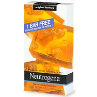 (Neutrogena Transparent Facial Bar Bonus Pack, Original Formula 3 ea)