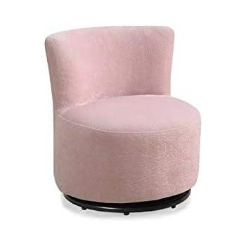 Amazon Com Monarch Fuzzy Fabric Juvenile Chair Pink
