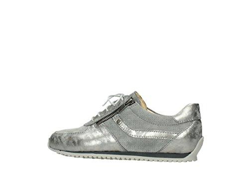 Wolky Comfort Sneakers 01402 Morgan 10200 grau Nubuk