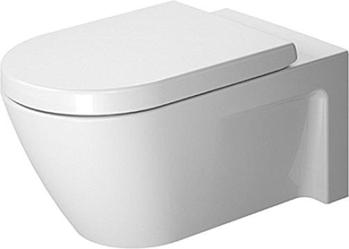 (Duravit 2533090092 Toilet Bowl Wall Mounted Starck 2)