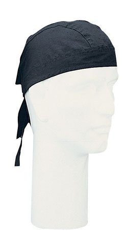 Night Black Head Wrap Do-rag