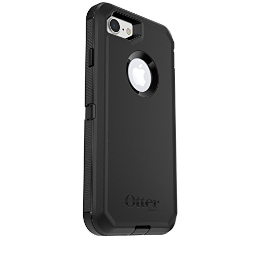 OtterBox DEFENDER SERIES Case for iPhone 7 (ONLY) - Frustration Free Packaging - BLACK