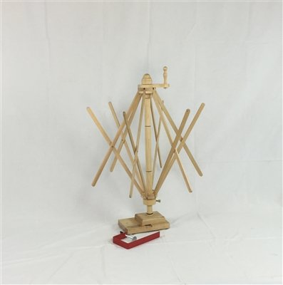 Strauch Yarn Swift / Skeinwinder Combination Table & Floor Model Maple