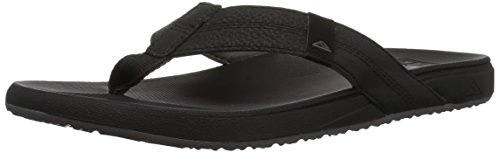 Reef Men's Cushion Bounce Phantom Flip Flop, Black, 10 M US