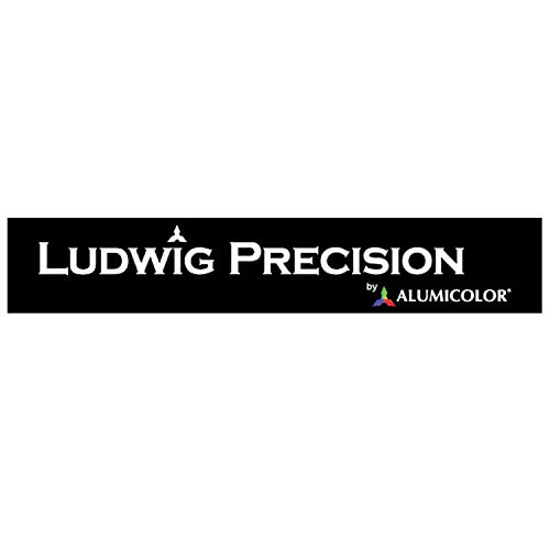 "Ludwig Precision 6"" 45-90-Degree Aluminum Drafting Triangle, 83106"
