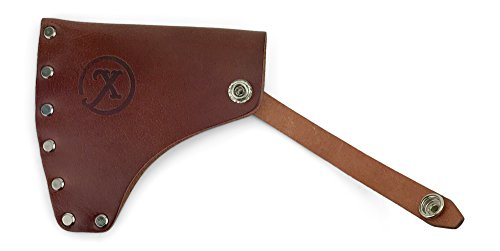 Xpedition Gear American Campcraft Camping Axe with Premium Genuine Leather Sheath