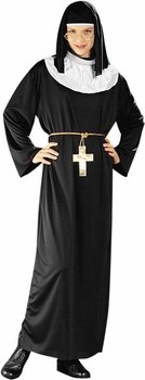 Adult's Modest Nun Halloween Costume (Size: Standard 8-12)