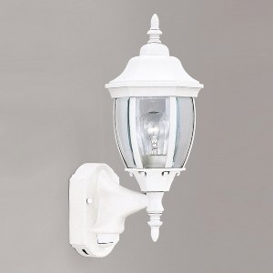 420MD-WH Tiverton 6 Inch Wall Lantern - Motion Detector (Designers Fountain Motion Detector)