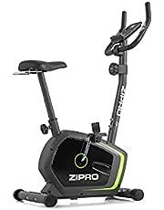 Zipro Magnetische fitnessfiets voor volwassenen, hometrainer, drift tot 120 kg, zwart, één maat, eenheidsmaat