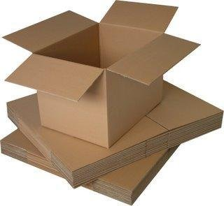 10 x Small Packaging Cardboard Mailing Boxes 6X6X6
