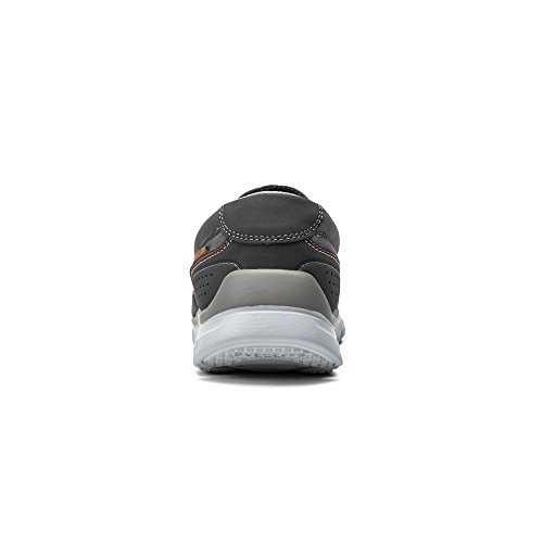 Skechers Hombres L-fit Peace Keeper Slip On Charcoal