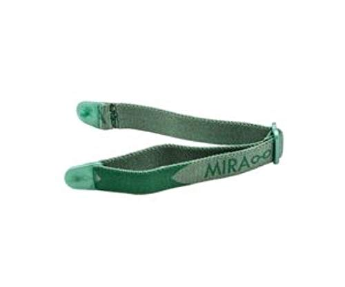 Miraflex Replacement Straps Eyeglasses Medium Adjustable Elastic (Green) by MIRAFLEX