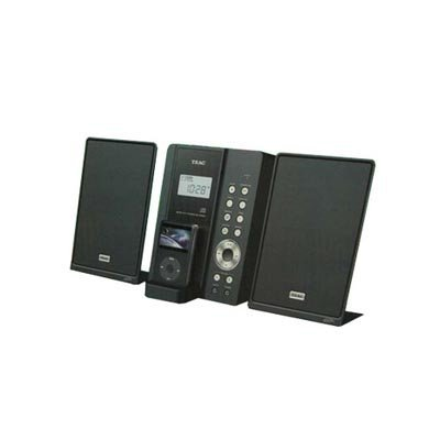 TEAC MC-DX50i 2 1 Channel Ultra Thin Hi-Fi System with iPod Dock