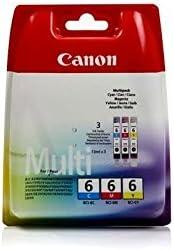 Original Canon 4706a022 Bci 6 Für Pixma Ip 4000 3x Premium Drucker Patrone Cyan Magenta Gelb 3 X 13 Ml Bürobedarf Schreibwaren