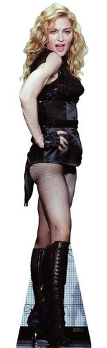 Madonna Lifesize Standup Poster Stand Up 23 x 73in ()