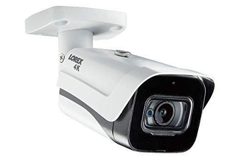 Lorex LBV8721AB 8MP 4K MPX Bullet Camera with Audio and 150ft Night Vision