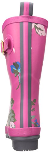 Joule Kvinna Molly Welly Regn Boot Pink Posy