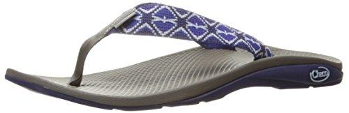 Chaco Mujer Flip Ecotread Athletic Sandal Errata Blues