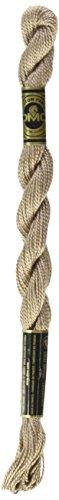 DMC 115 5-841 Pearl Cotton Thread, Light Beige Brown, Size - Pearl Embroidery Dmc Cotton Thread