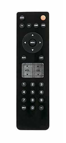 New VR2 Replacement Remote Control fit for VIZIO TV VP422 HDTV10A VECO320L VECO320L1A VECO320LHDTV VL260M VL320M VL370M VO320E VO370M VO420E VP322 VP322HDTV10A VP323HDTV10A VP422HDTV10A VP42HDTV20A (Vizio Remote Replacement Vo320e)