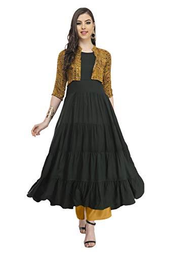 AnjuShree Choice Women Stitched Rayon Anarkali Kurti