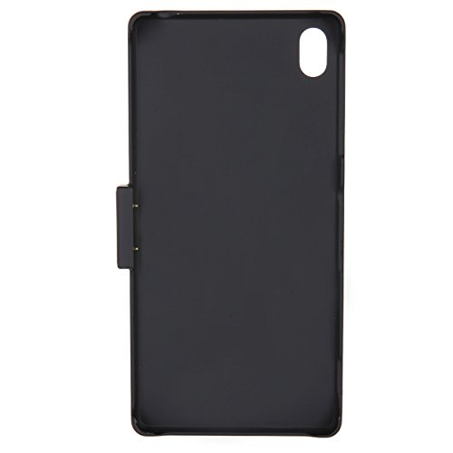 West Port®3200mah External Extended Battery case Combo for Sony Experia Z3,Pc Back Cover Included+life Warranty(Black)