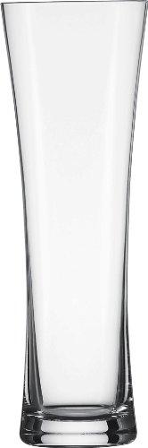 Schott Zwiesel Tritan Crystal Glass Small Wheat Beer Glass, Set of 6 (Zwiesel Glass Schott Glass Pilsner)