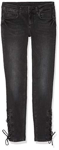 87189 Jeans Liu den black Wash Donna Jo w Skinny Reg Schwarz Eyelets Render agxU75gwq