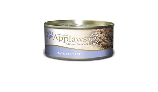 Applaws Ocean Fish Canned Cat Food - Comida para gatos (5,5 oz): Amazon.es: Productos para mascotas