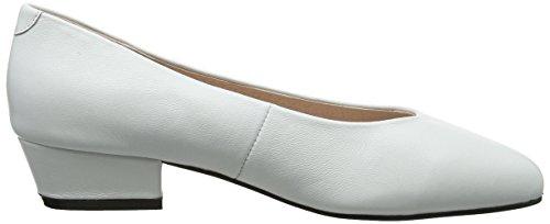 Office Lady My Bout 10060 Fermé Leather Femme Escarpins white White 11rAnqR