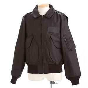 日用品 ミリタリージャケット 関連商品 フライトジャケット ブラック M B076Z6B2KF